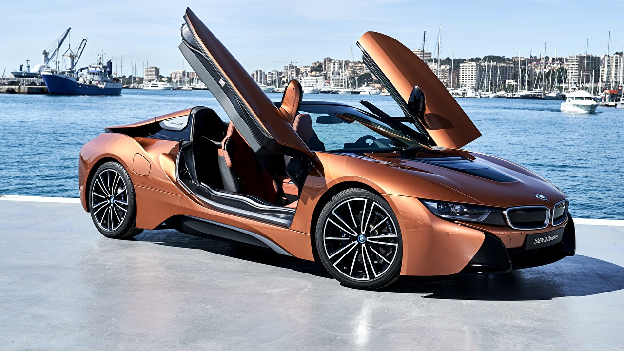 Image BMW 2018 i8 Roadster Cars auto automobile