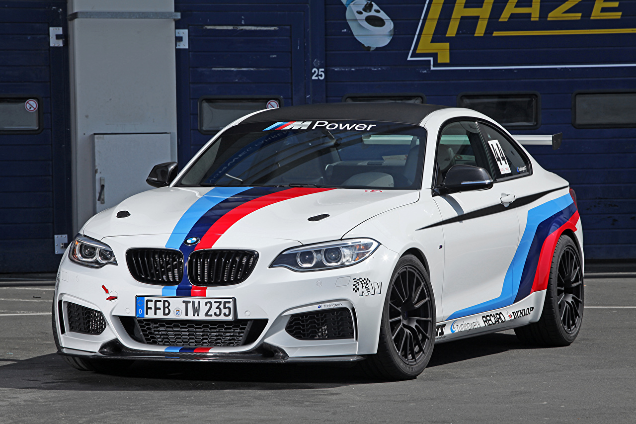 Photos BMW Tuning 2014 M235i (Tuningwerk) White Cars auto automobile