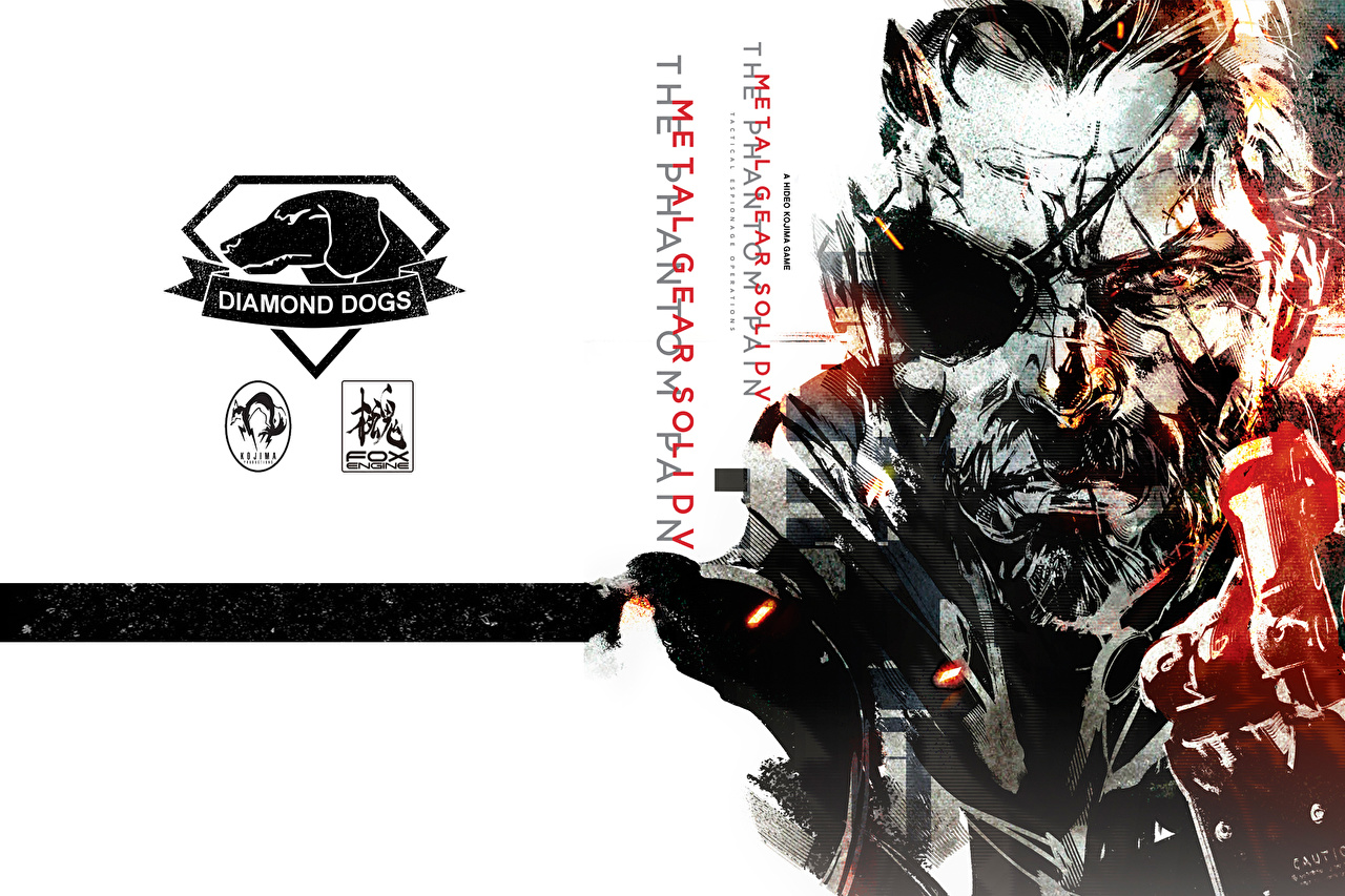 Picture Logo Emblem Metal Gear Solid V The Phantom Pain Mgs Konami