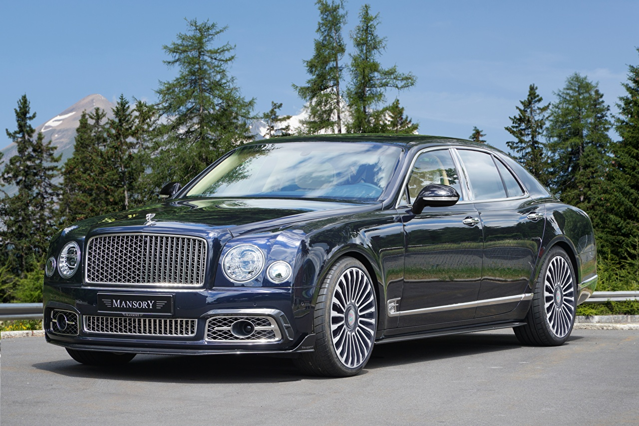Wallpaper Bentley 2017 Mansory Mulsanne Extended Wheelbase auto Metallic Cars automobile