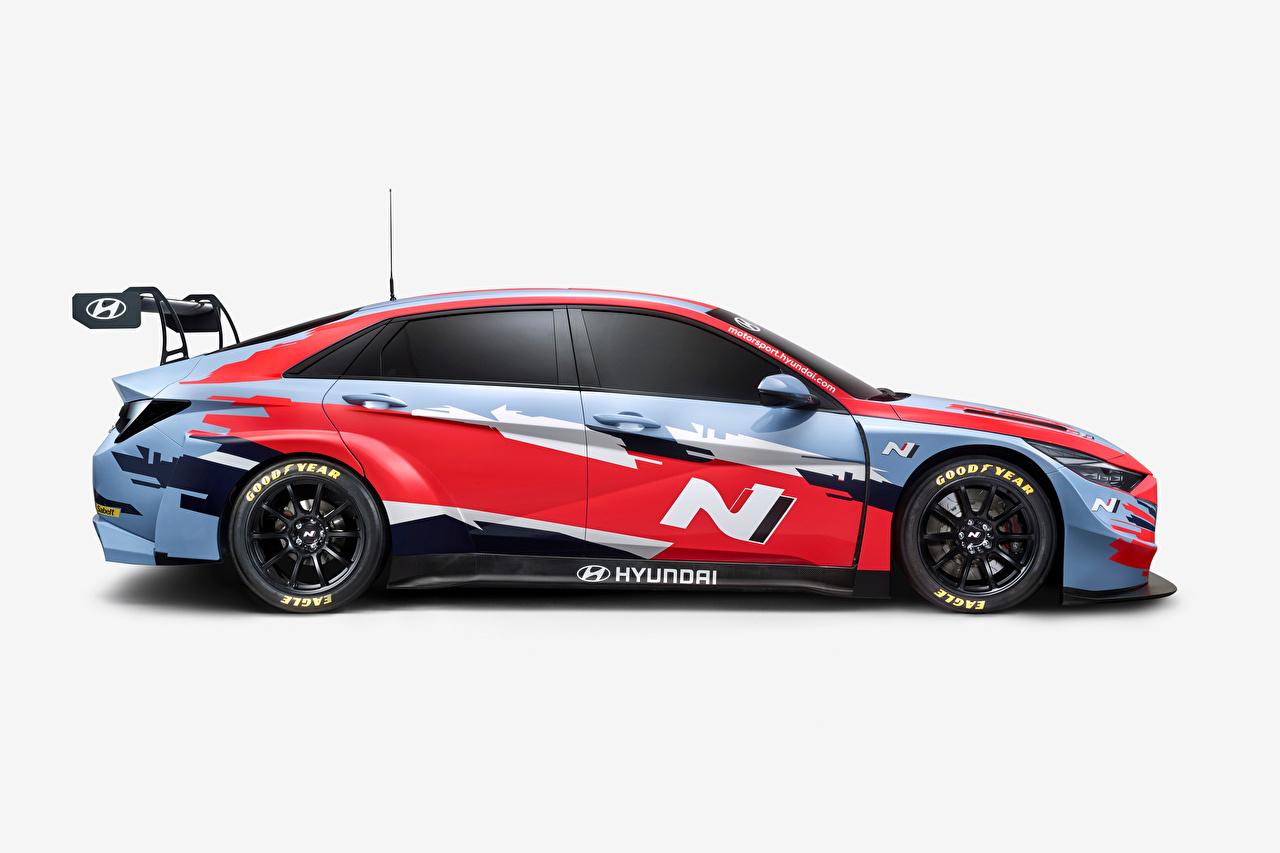 Images Tuning Hyundai Elantra N TCR (CN7), 2020 Side auto Cars automobile