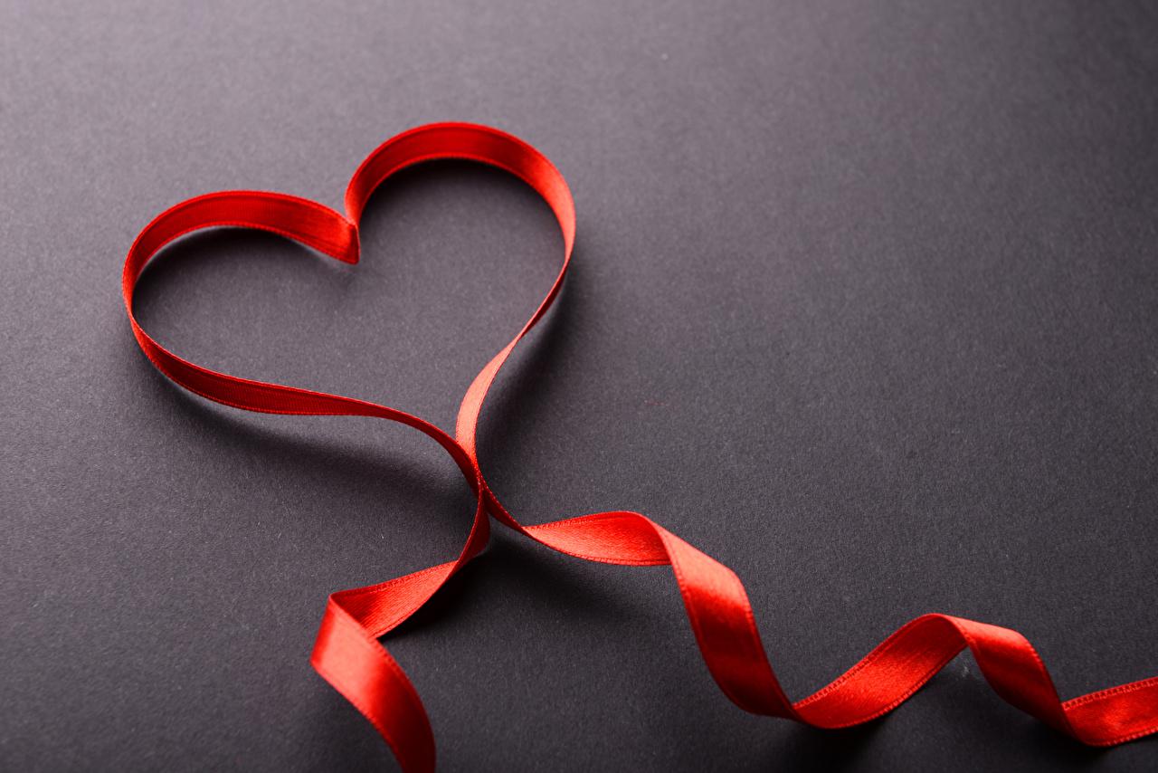 Fonds d'ecran Amour Ruban Cœur télécharger photo