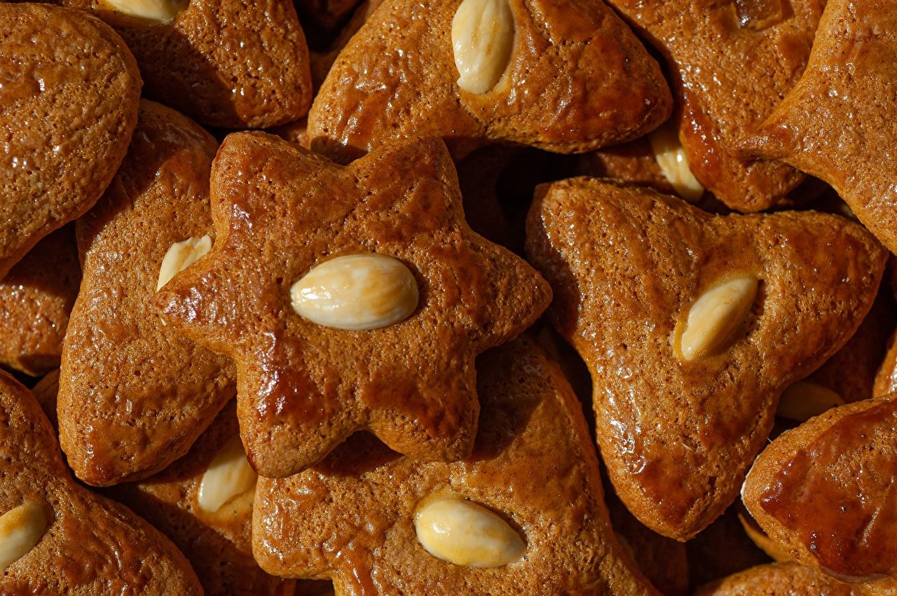 Desktop Wallpapers Food Cookies Nuts Closeup