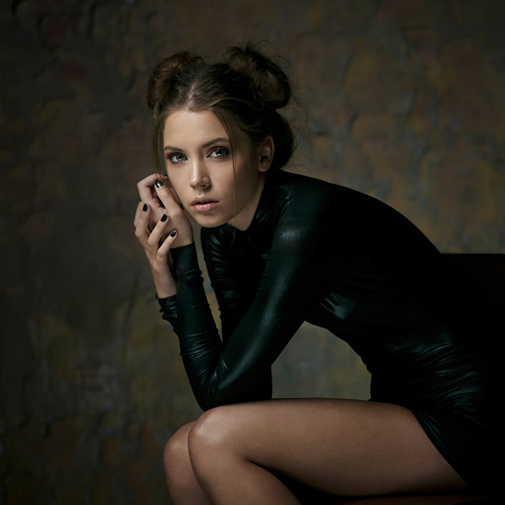 Photo Xenia Kokoreva Maxim Maximov Girls Legs