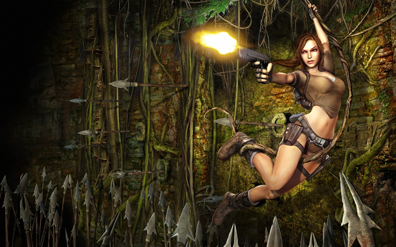 Wallpaper Tomb Raider Lara Croft Girls Games