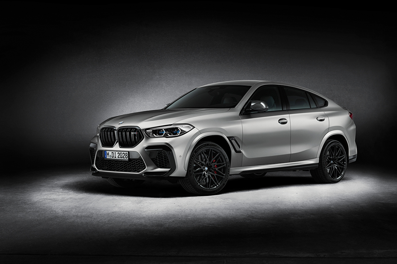 Images BMW X6 M Competition 'First Edition', (F96), 2020 Silver color Cars auto automobile