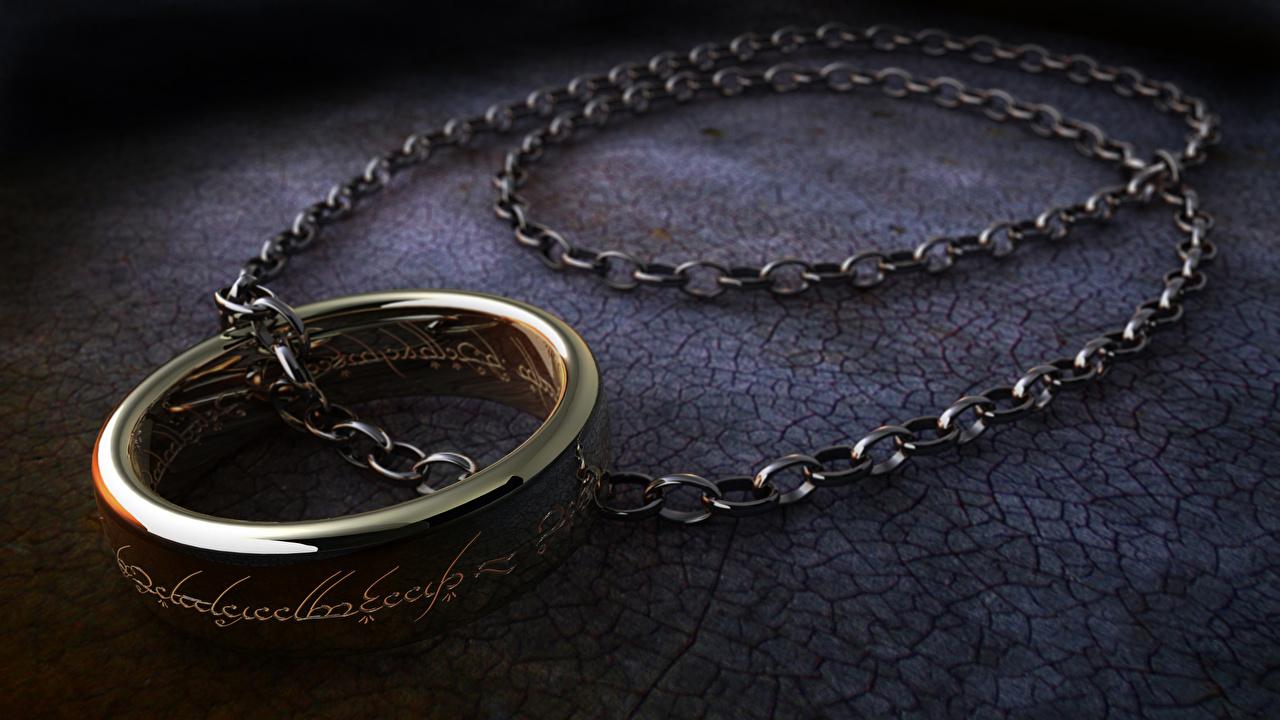 Le Seigneur des anneaux Bague Chaîne bague de bijoux Cinéma