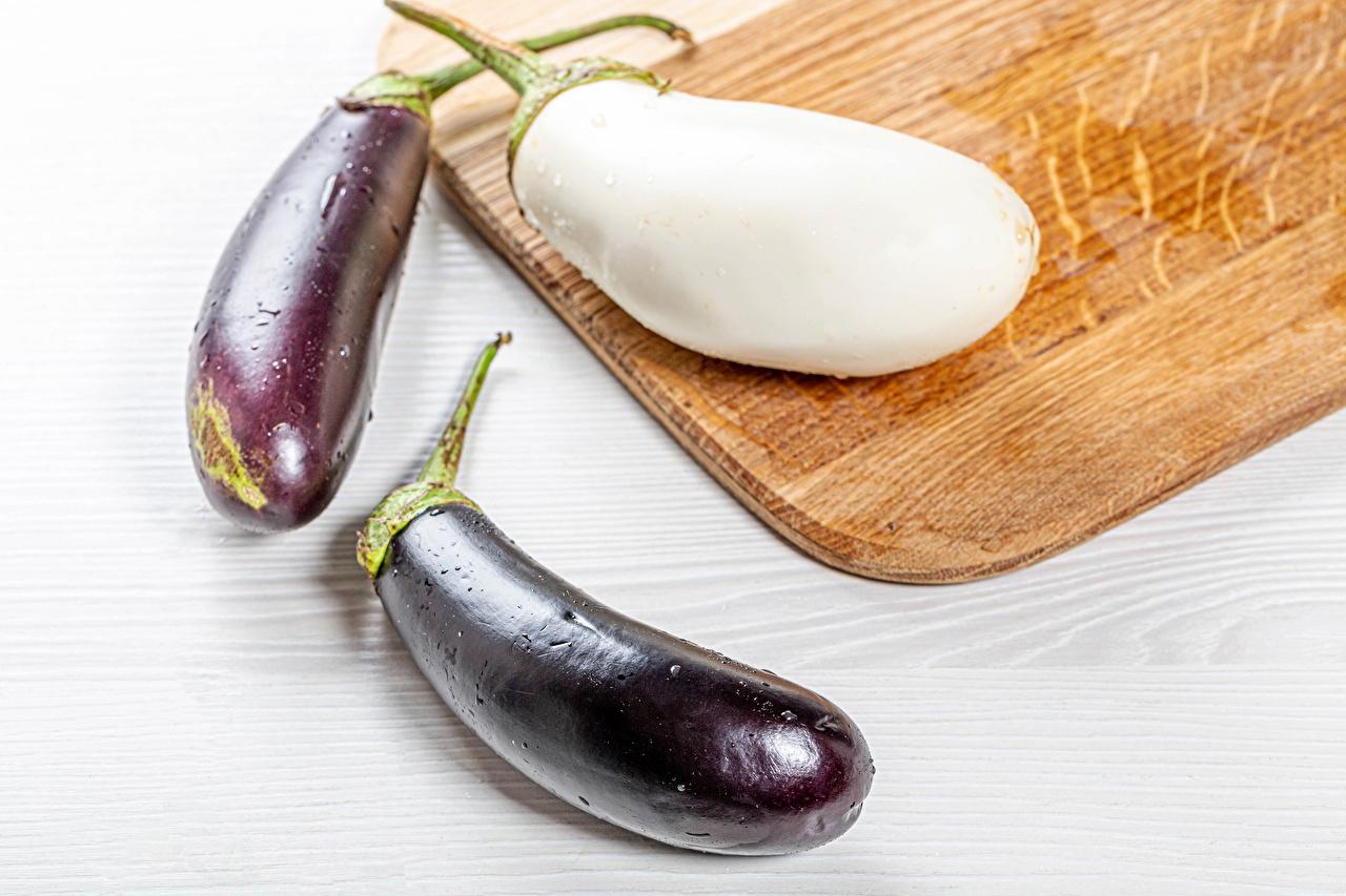 Image Eggplant Food Three 3 Cutting board