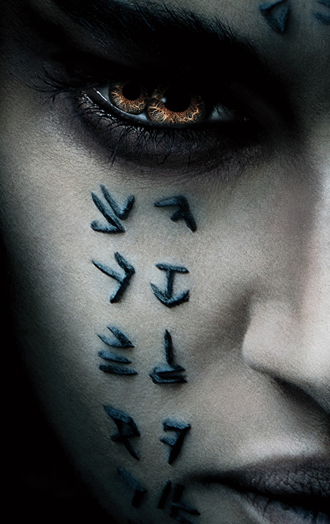 Images The Mummy 2017 Eyes Face film Closeup Staring  for Mobile phone Movies Glance