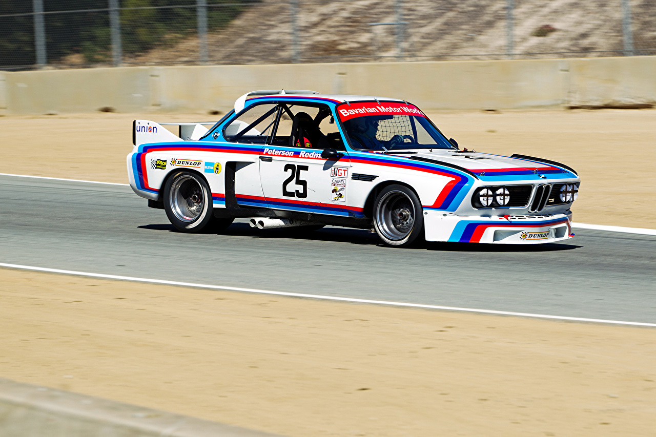 Images BMW Tuning 1971-75 3.0 CSL Race Car (E9) antique automobile Retro vintage Cars auto
