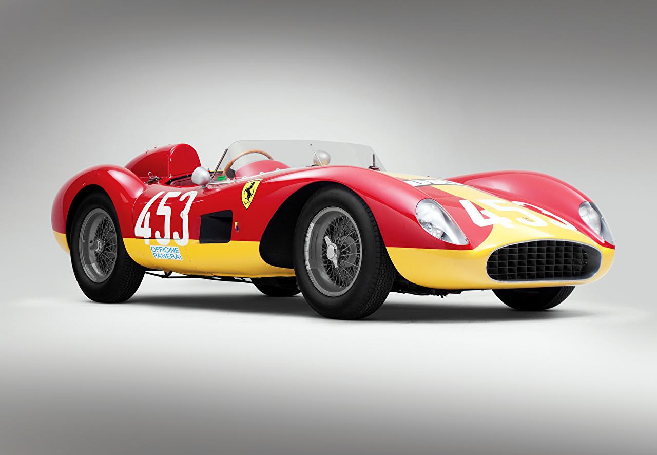 Photo Tuning Ferrari 1957 500 TRC Scaglietti Retro automobile vintage antique Cars auto