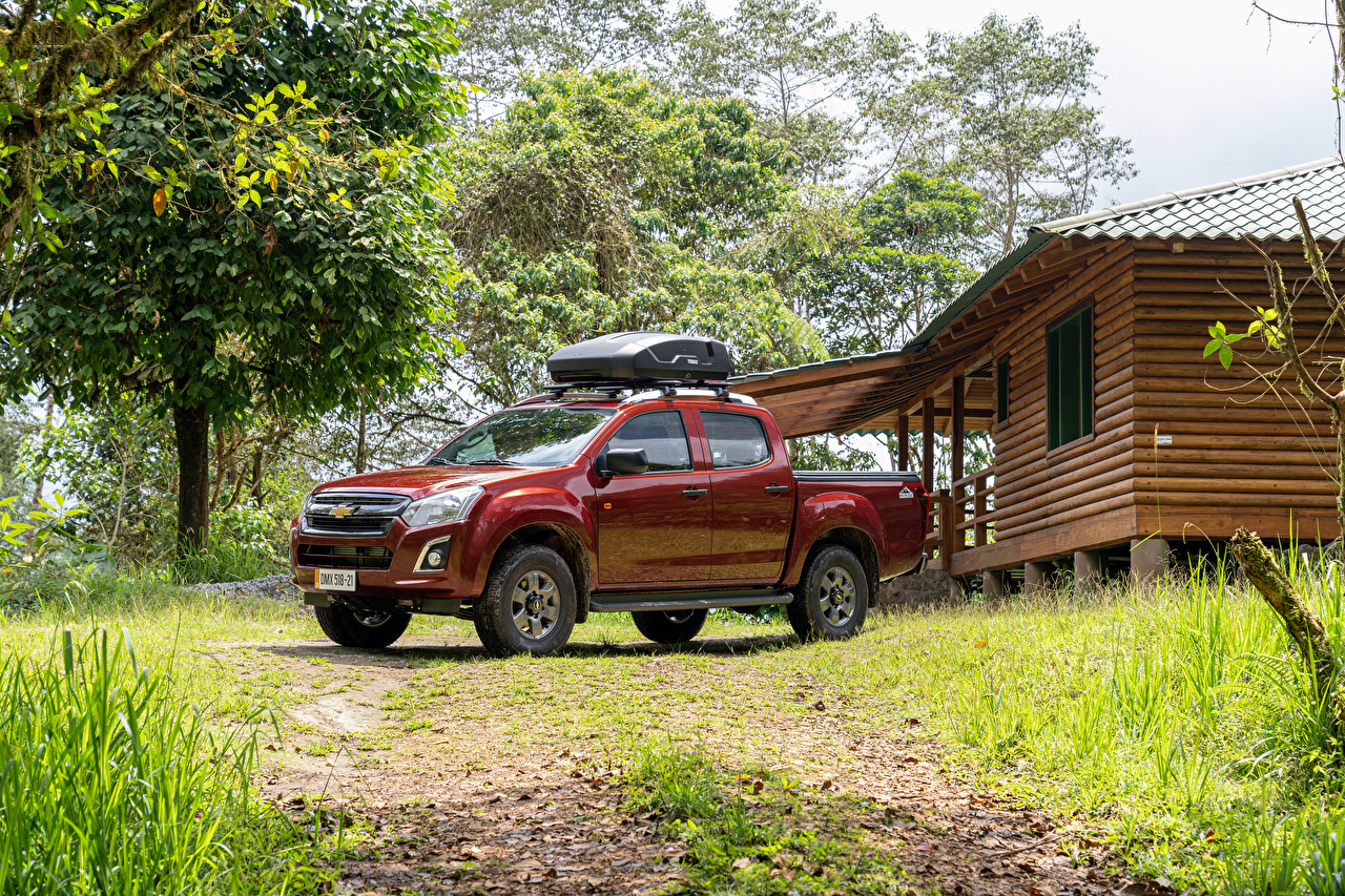 Picture Chevrolet D-Max 'Hi-Ride', 2020 Pickup Red Metallic automobile Cars auto