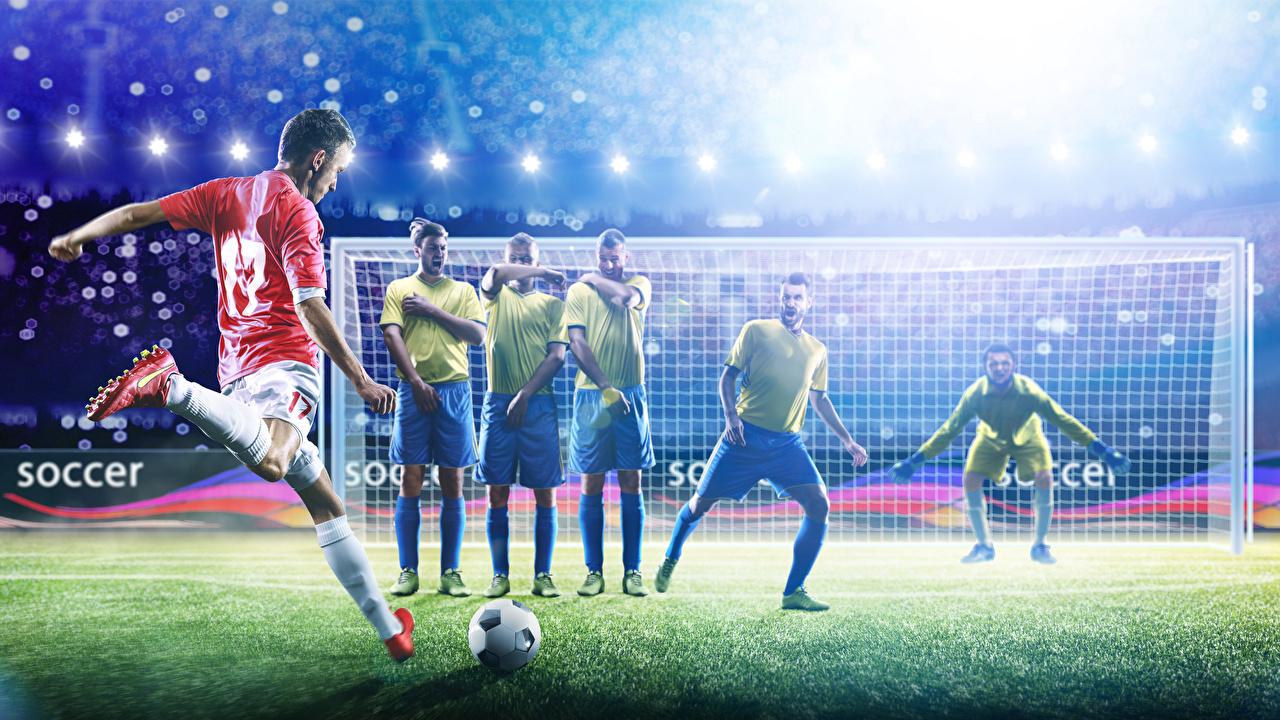 Hintergrundbilder Mann Schlag Torwart Sport Fußball Ball Uniform schlagen Torhüter