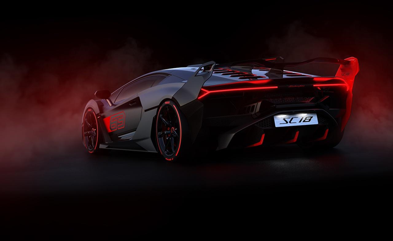 Photo Lamborghini 2018 Sc18 Alston Back View Automobile