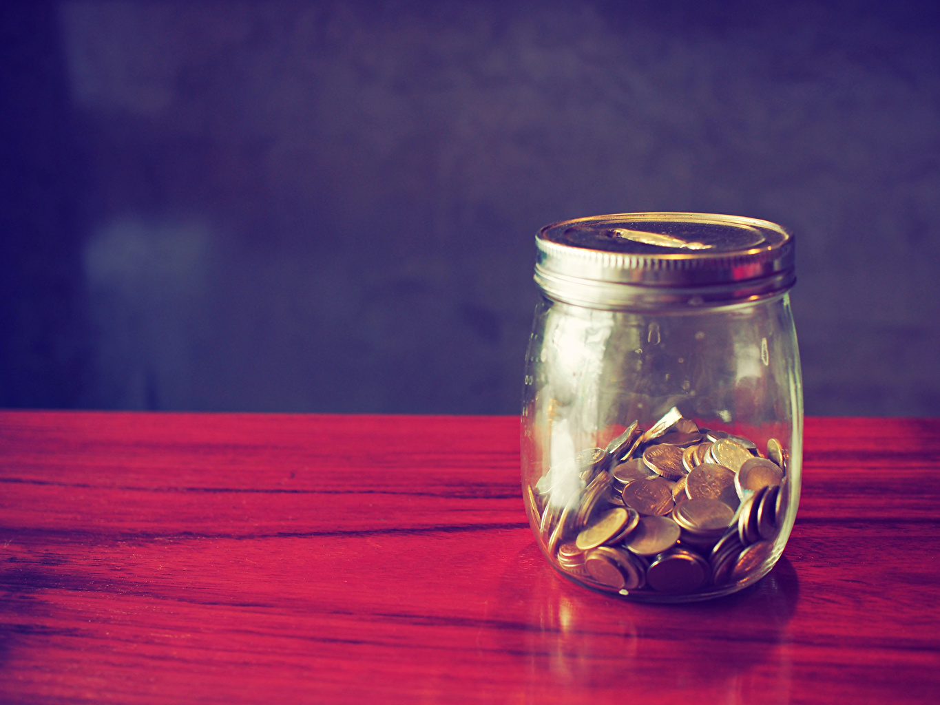 Desktop Wallpapers Coins Jar