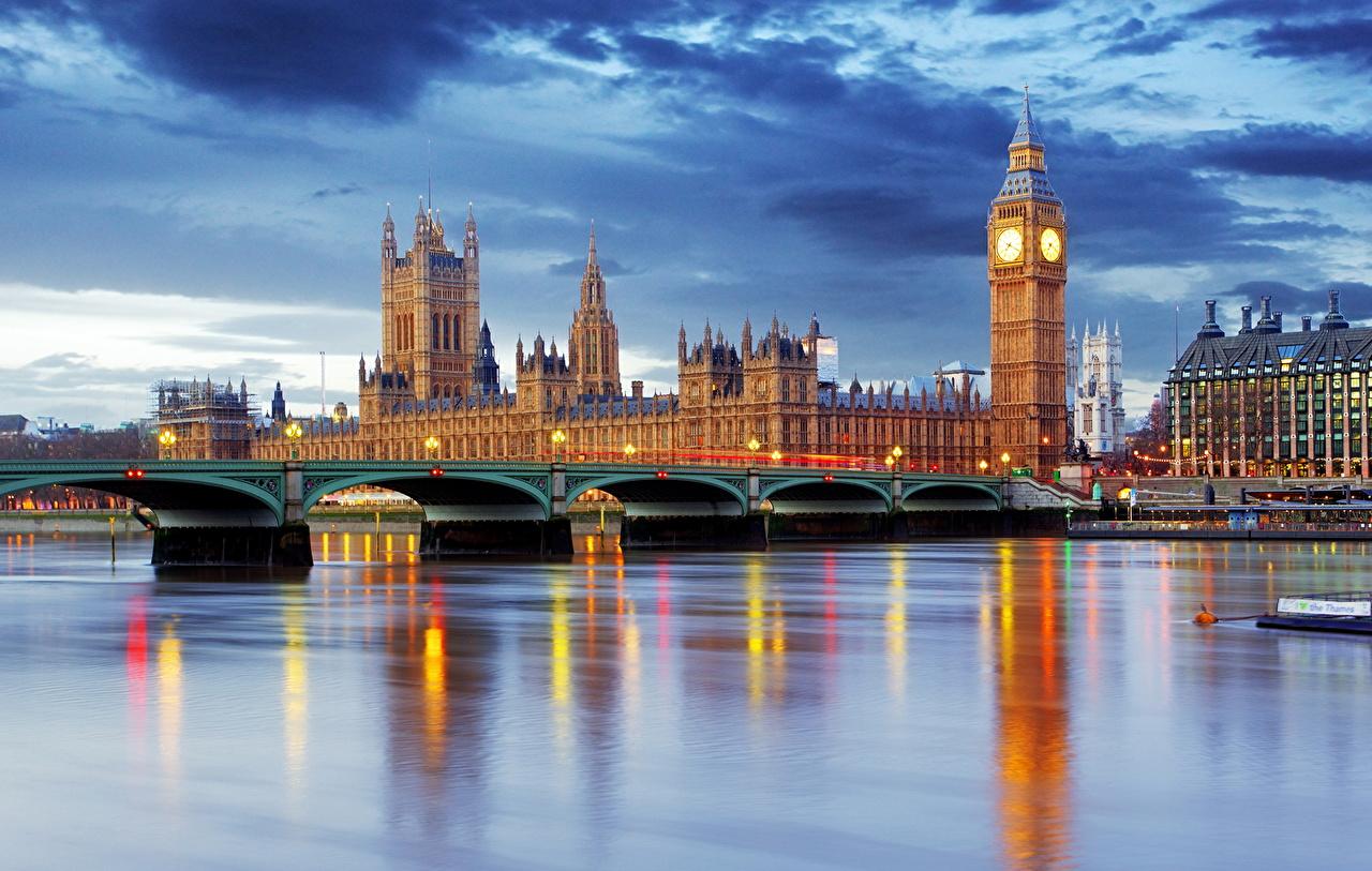 壁紙 イギリス 川 橋 住宅 空 ロンドン ビッグ ベン 都市