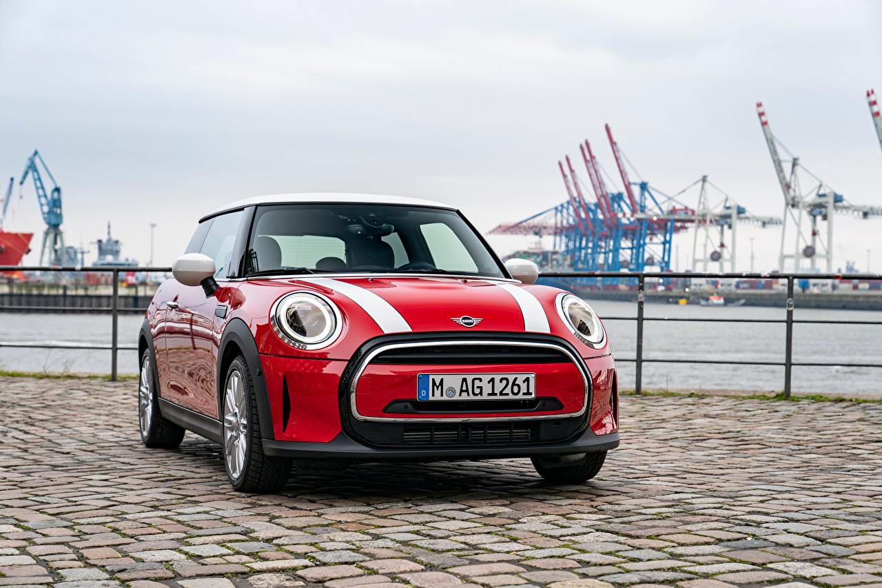 Bilder von Mini Cooper, Worldwide, (F56), 2021 Rot Vorne automobil auto Autos