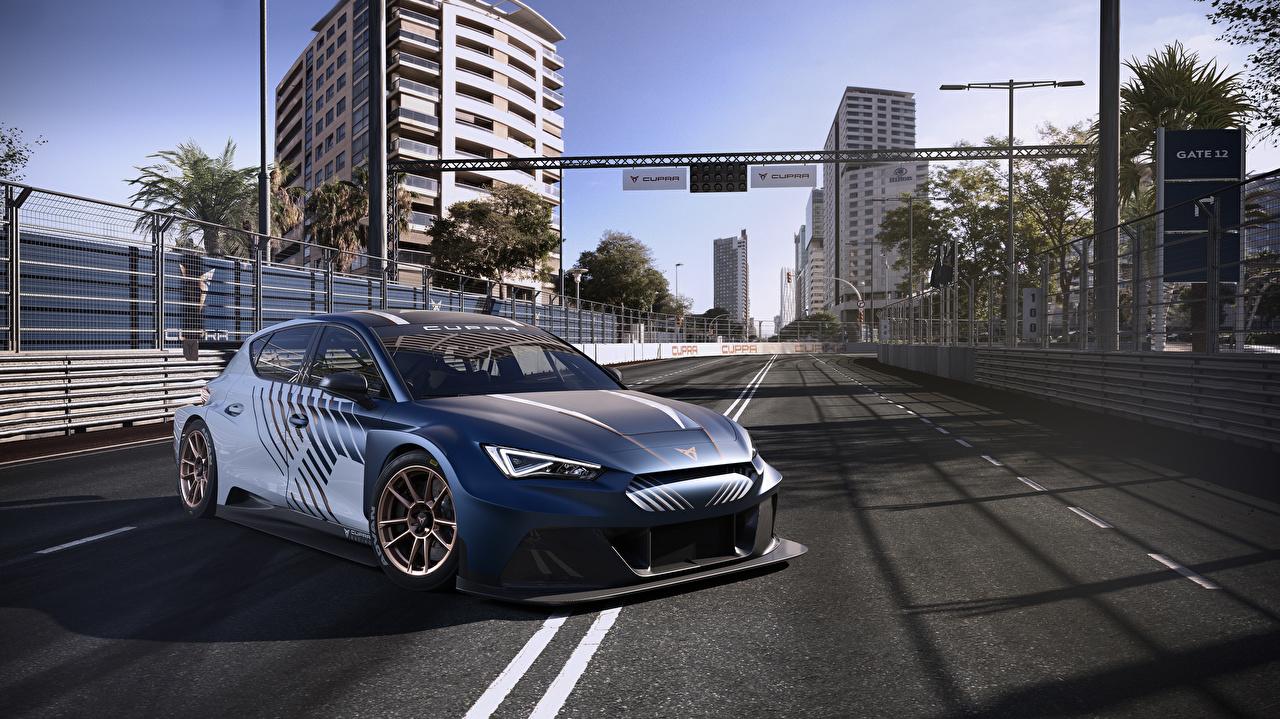 Cupra Tuning 2020-21 Leon e-Racer voiture, automobile Voitures