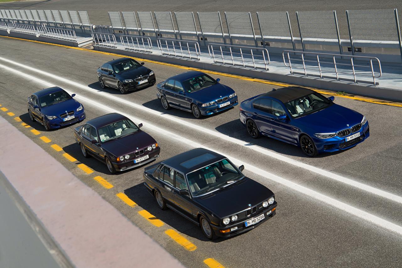 Image BMW 1985-2018 M5 auto Many Cars automobile
