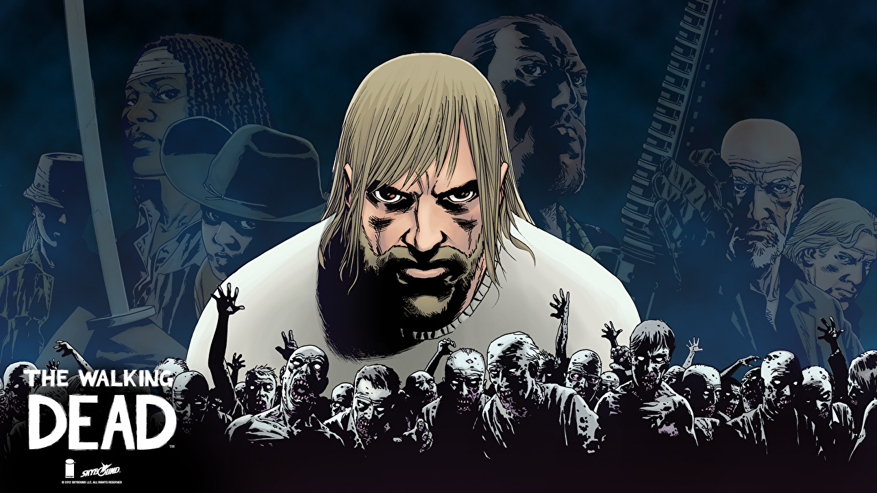Wallpaper The Walking Dead Tv Zombie Comic Rick Fantasy Movies
