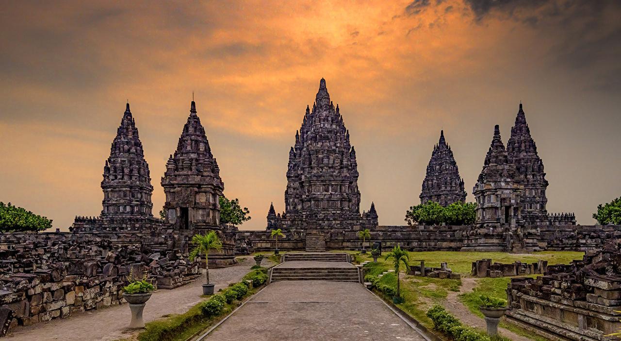 Immagini Indonesia Prambanan Temple Jogjakarta Tempio Città