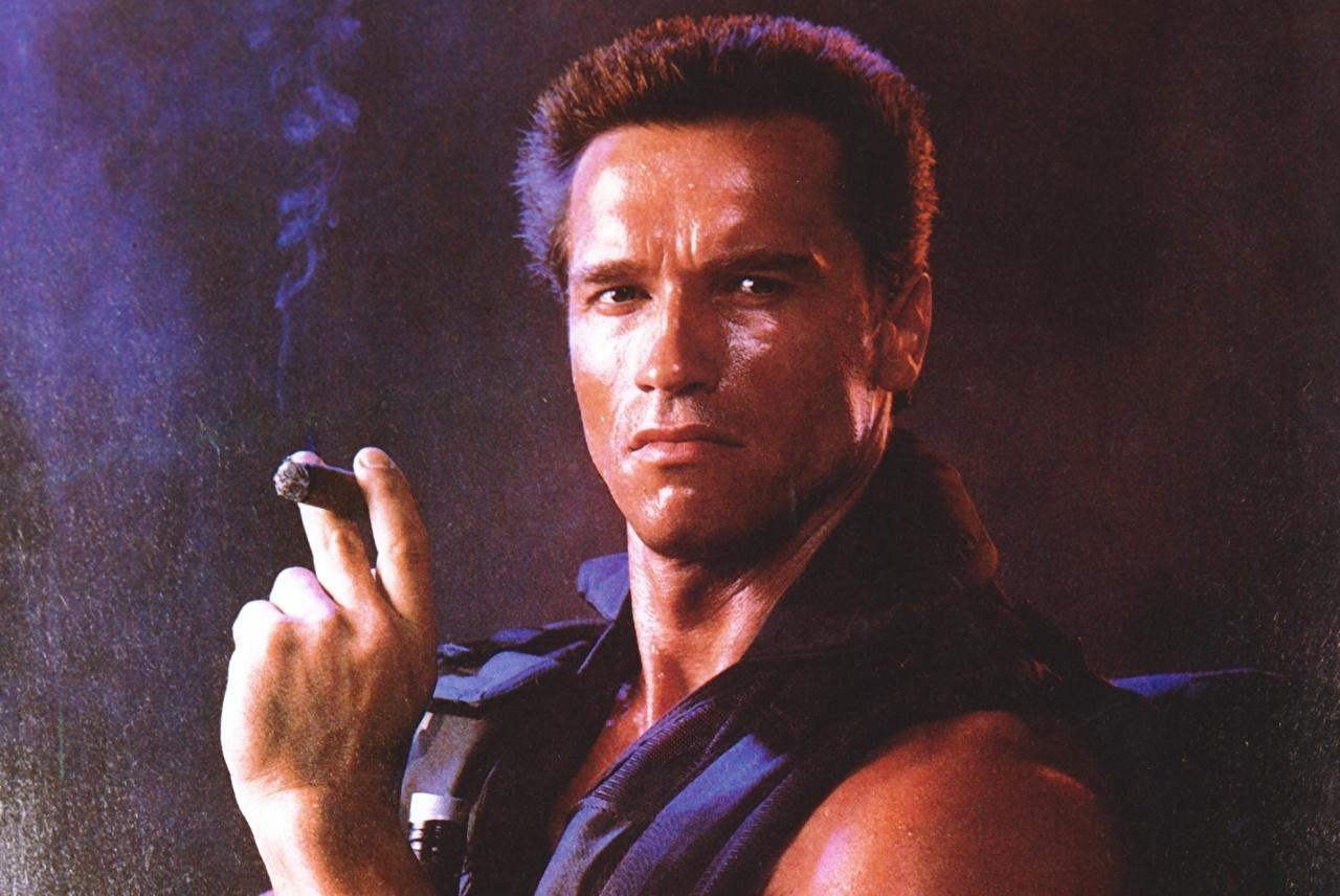 Comando Arnold Schwarzenegger Homem Filme Celebridade