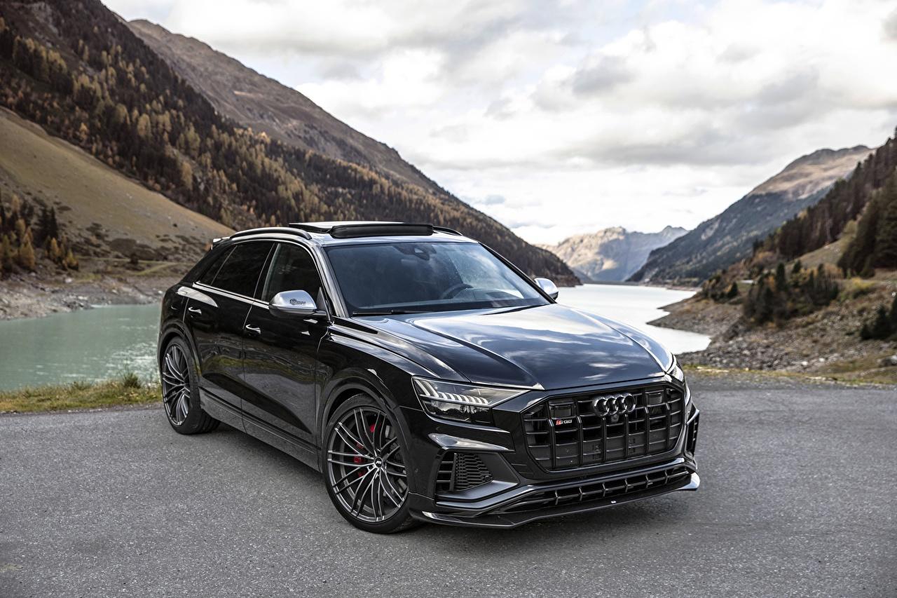 Fondos De Pantalla Audi Sq8 Tdi Abt 2019 Negro Metálico