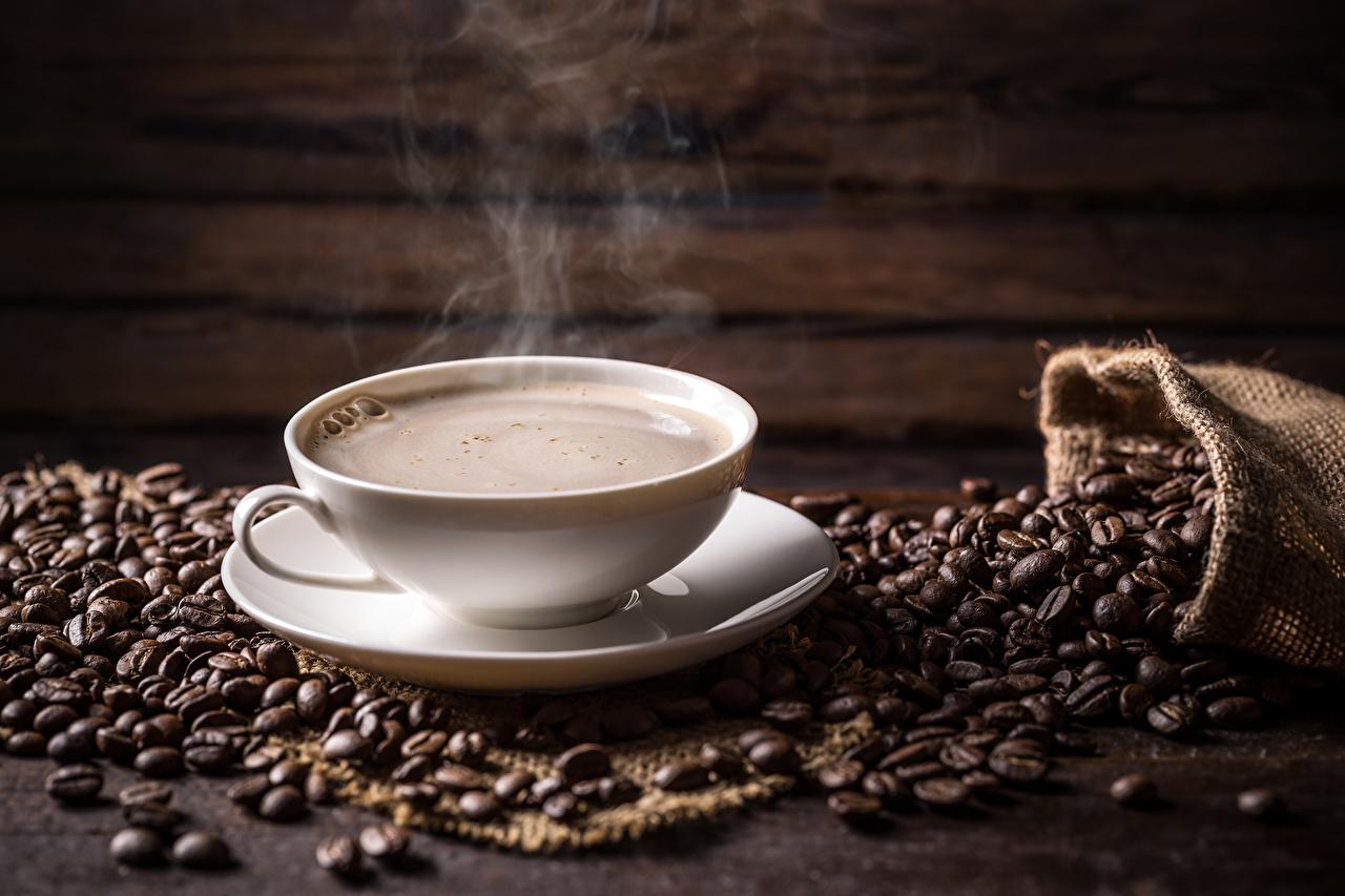 Photos Coffee Grain Cup Food Vapor