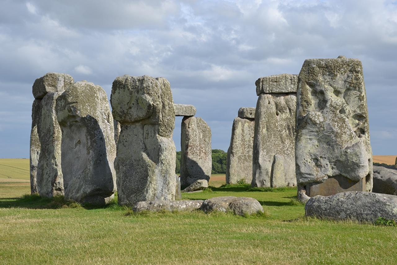 Foto England Denkmal Stonehenge, Wiltshire Natur Stein Steine