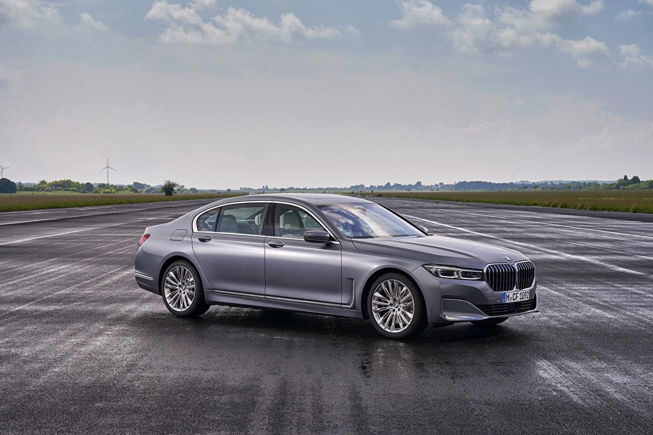 Pictures BMW 7 series, G11/G12 Sedan Grey Cars Metallic gray auto automobile