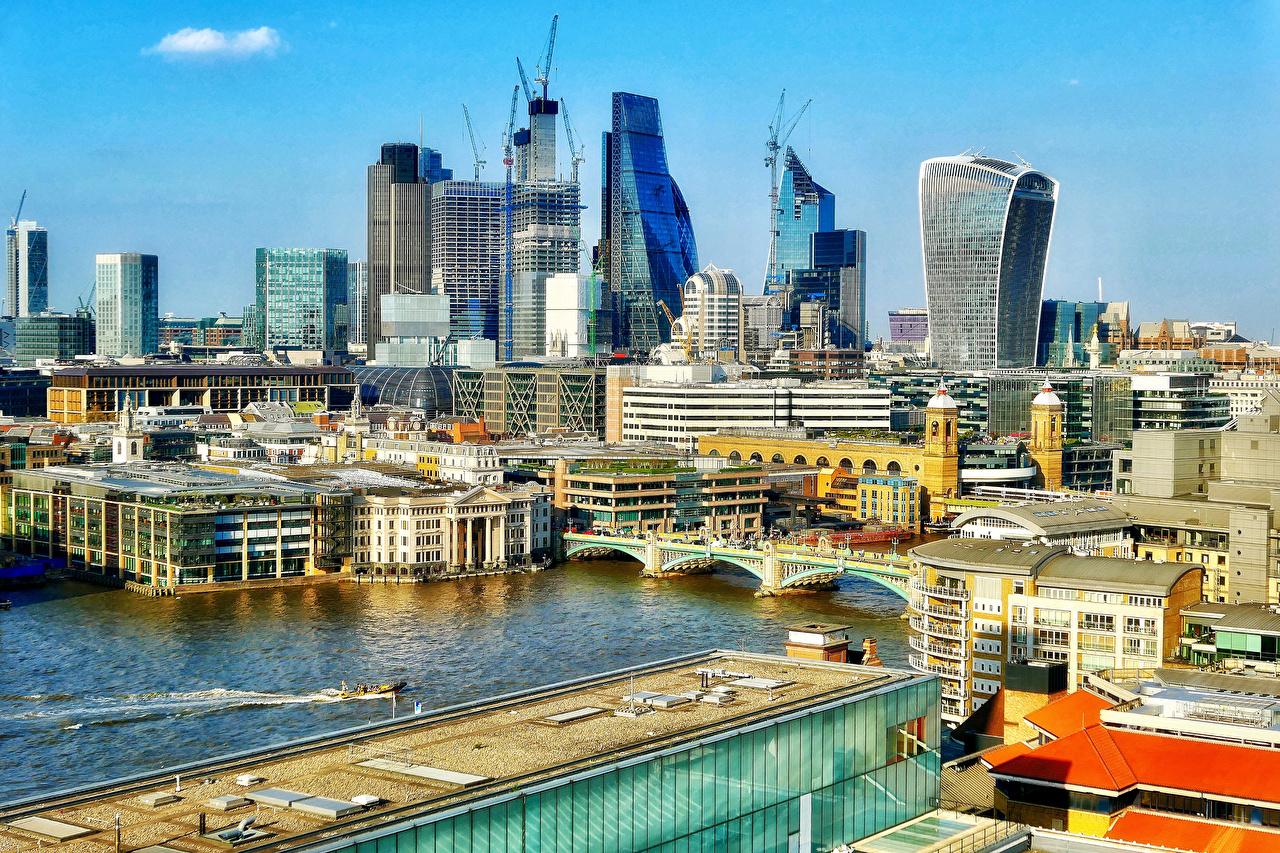 壁紙 イングランド 住宅 川 橋 ロンドン 都市 ダウンロード 写真