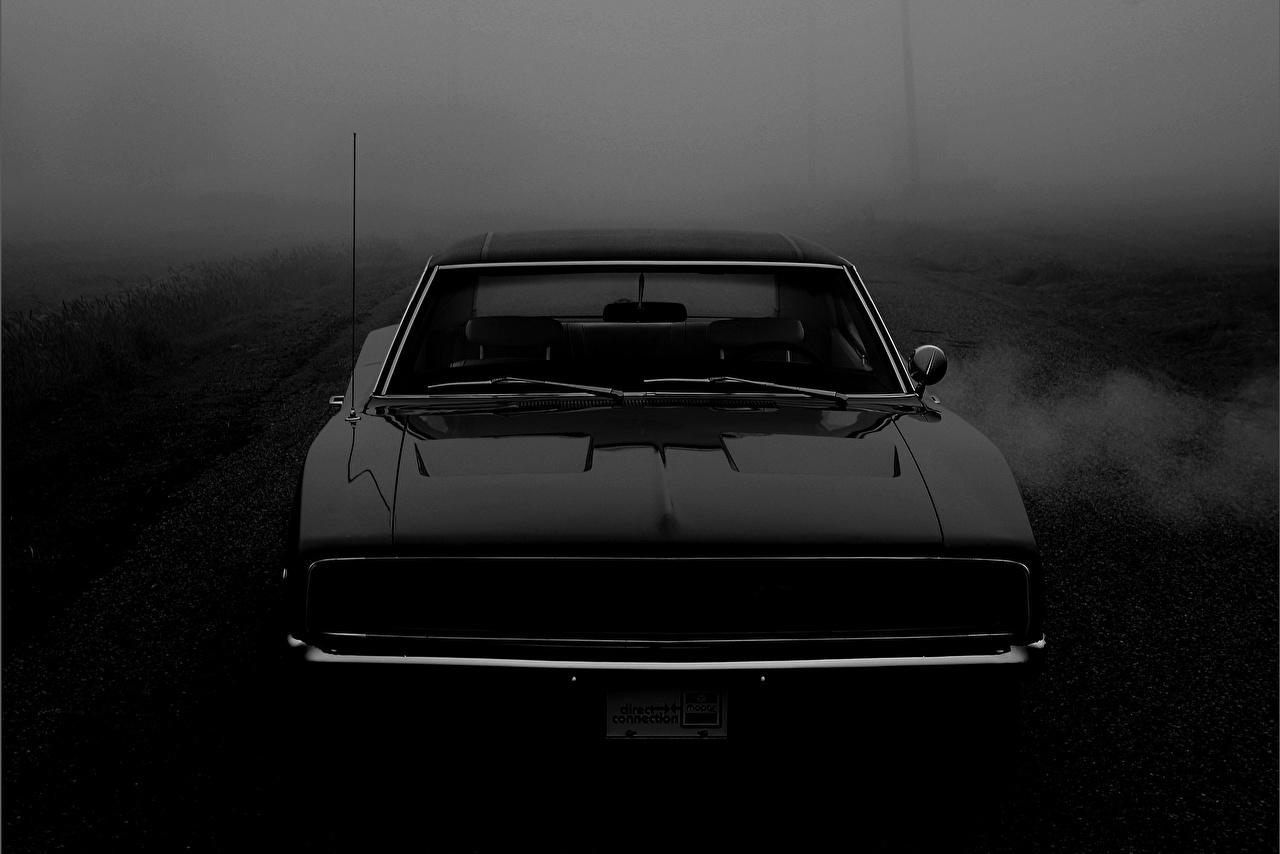 Fonds D Ecran Dodge 1968 Charger R T Muscle Car Noir