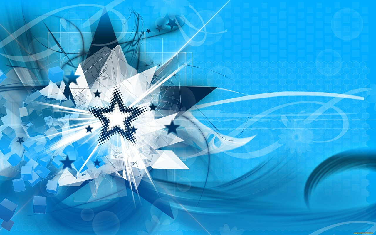 Image little stars Abstraction Colored background Star decoration Abstract art