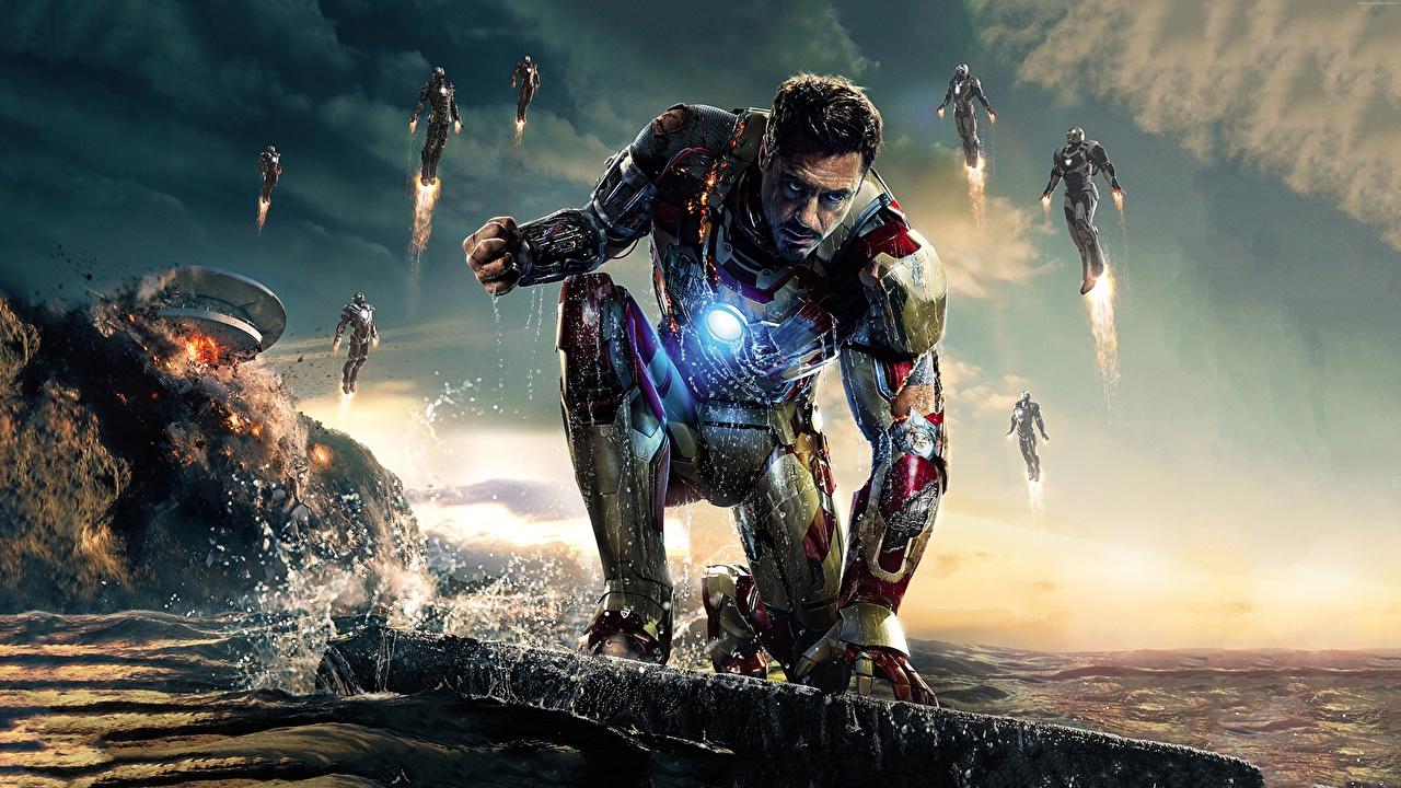 Photo Avengers: Age of Ultron Robert Downey Jr Heroes comics Iron Man hero Man Movies Celebrities superheroes Men film