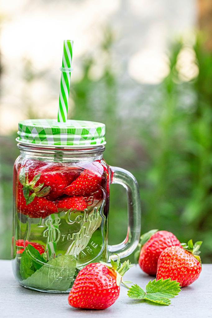 ,饮料,草莓,馬克杯,玻璃罐,食品,食物,