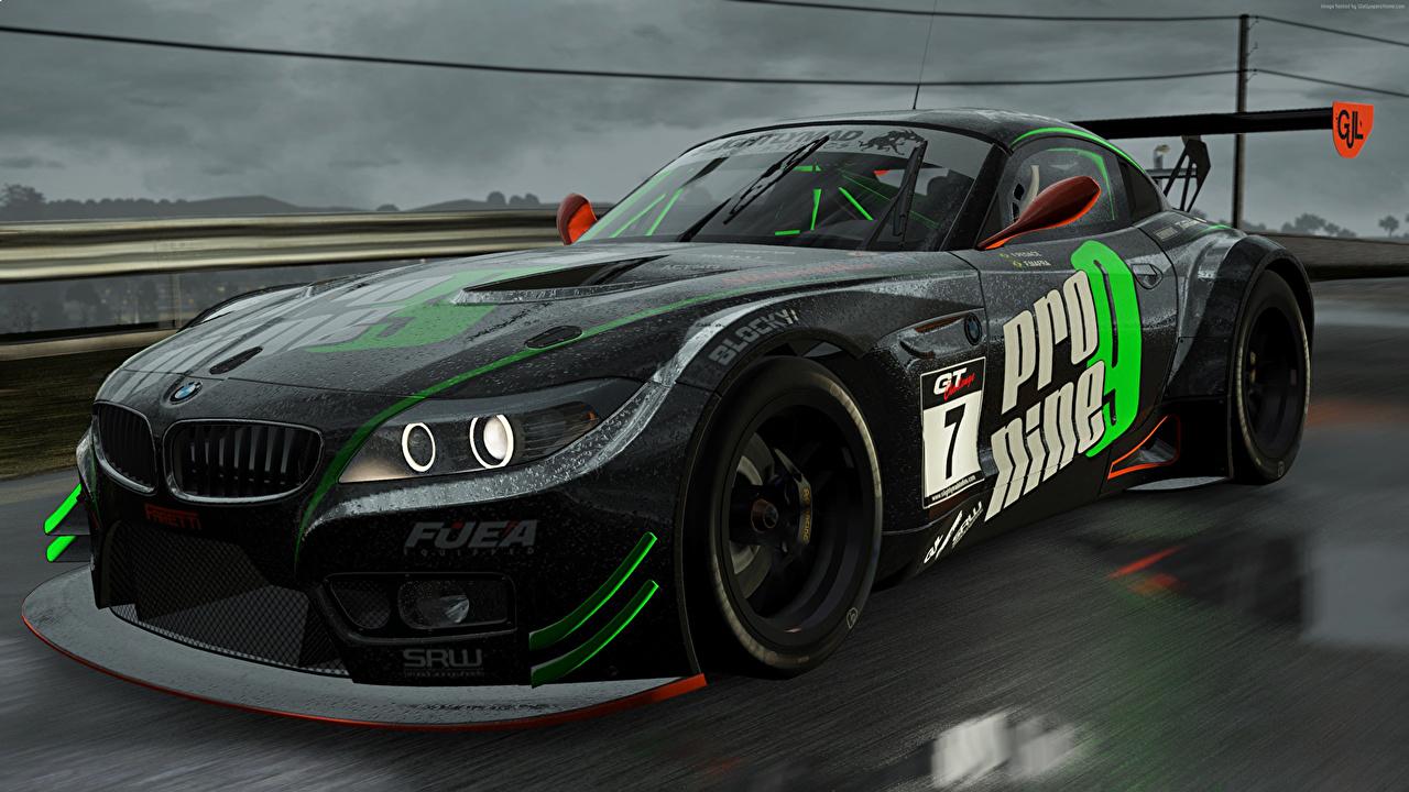 BMW Project CARS Negro autos, automóvil, automóviles, el carro, videojuego Juegos Coches