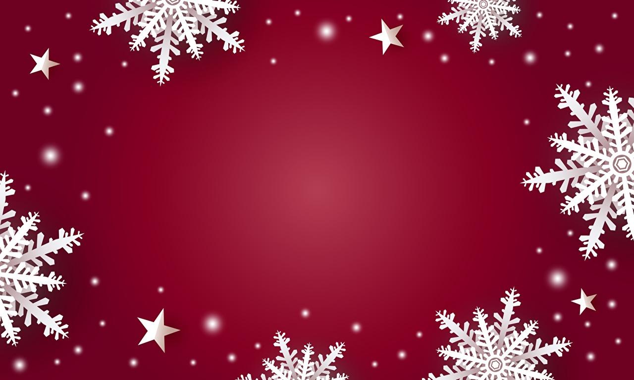 Fotos von Neujahr Schneeflocken Vorlage Grußkarte