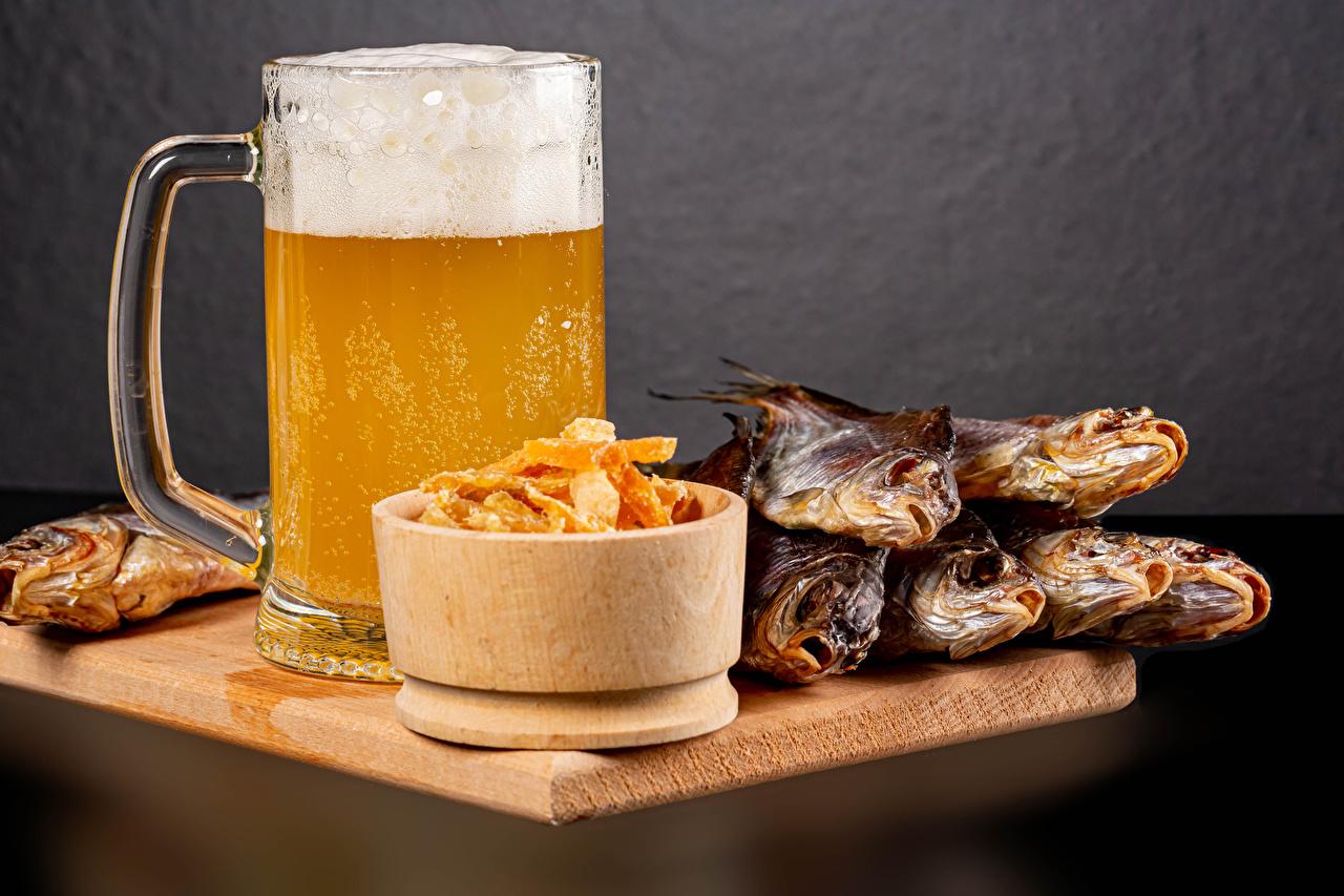 Photos Beer Fish - Food Mug Foam Food