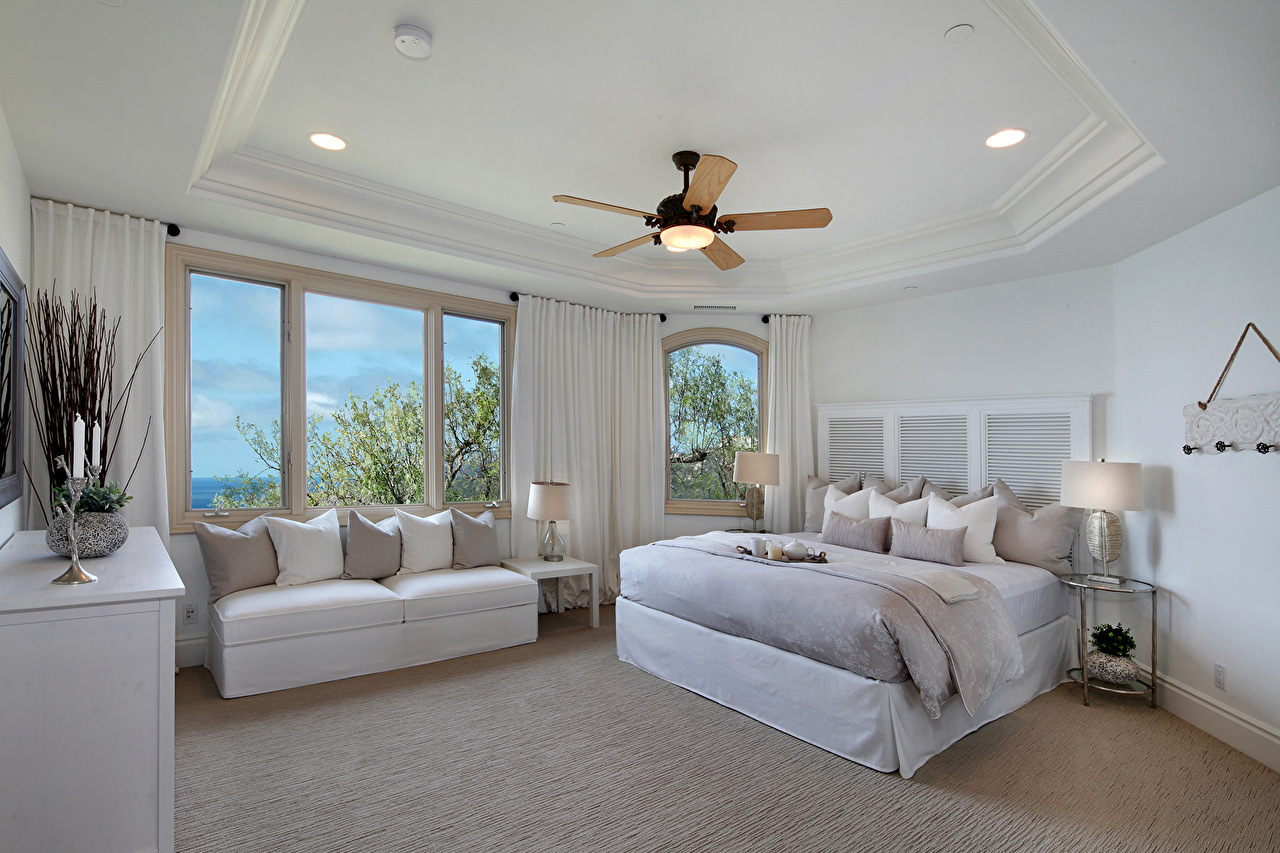 Hintergrundbilder Schlafzimmer Decke (Bauteil) Innenarchitektur Bett