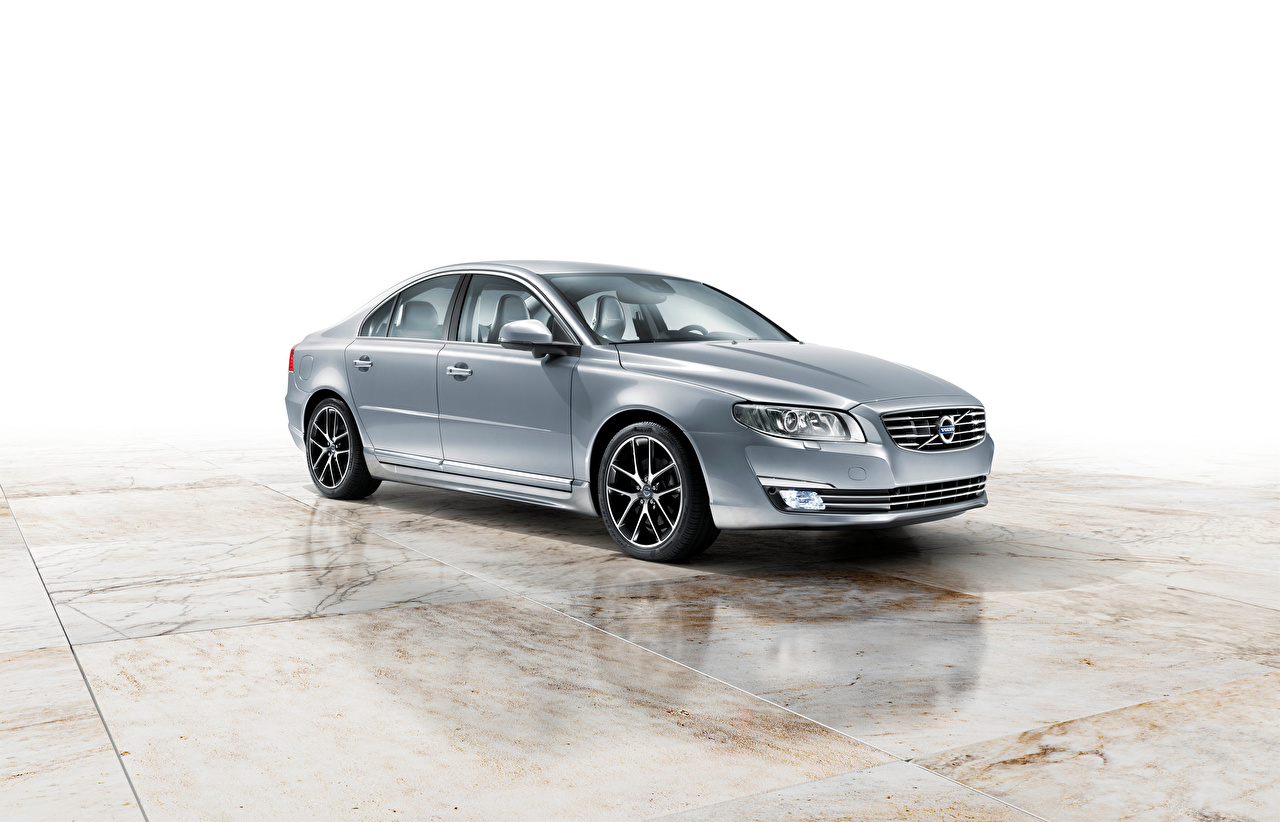 Photos Volvo S80 Worldwide Silver color Cars Metallic auto automobile