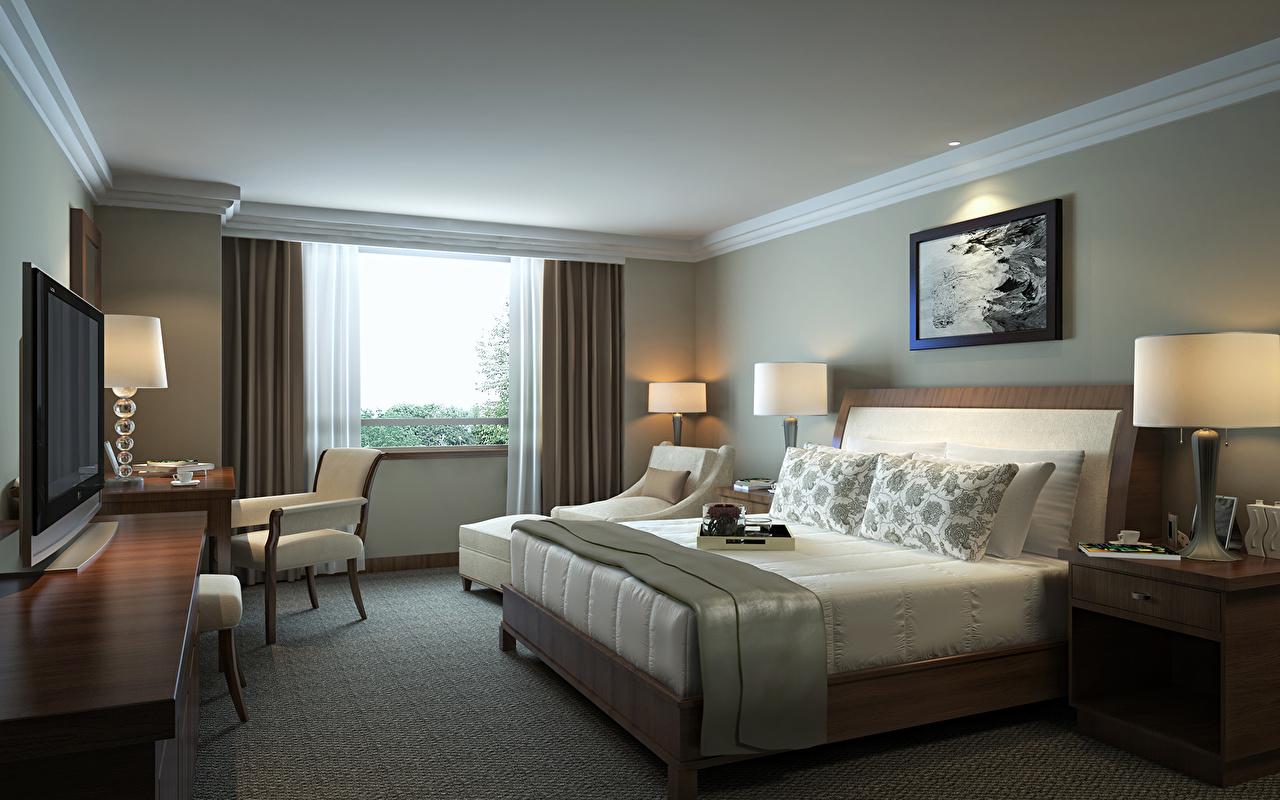 壁紙 インテリア ベッド 寝室 部屋 ホテル ダウンロード 写真