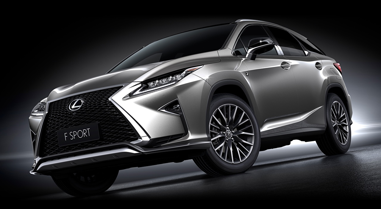 Pictures Lexus Crossover RX 200t, F-Sport, US-spec, 2016 Grey automobile CUV gray Cars auto