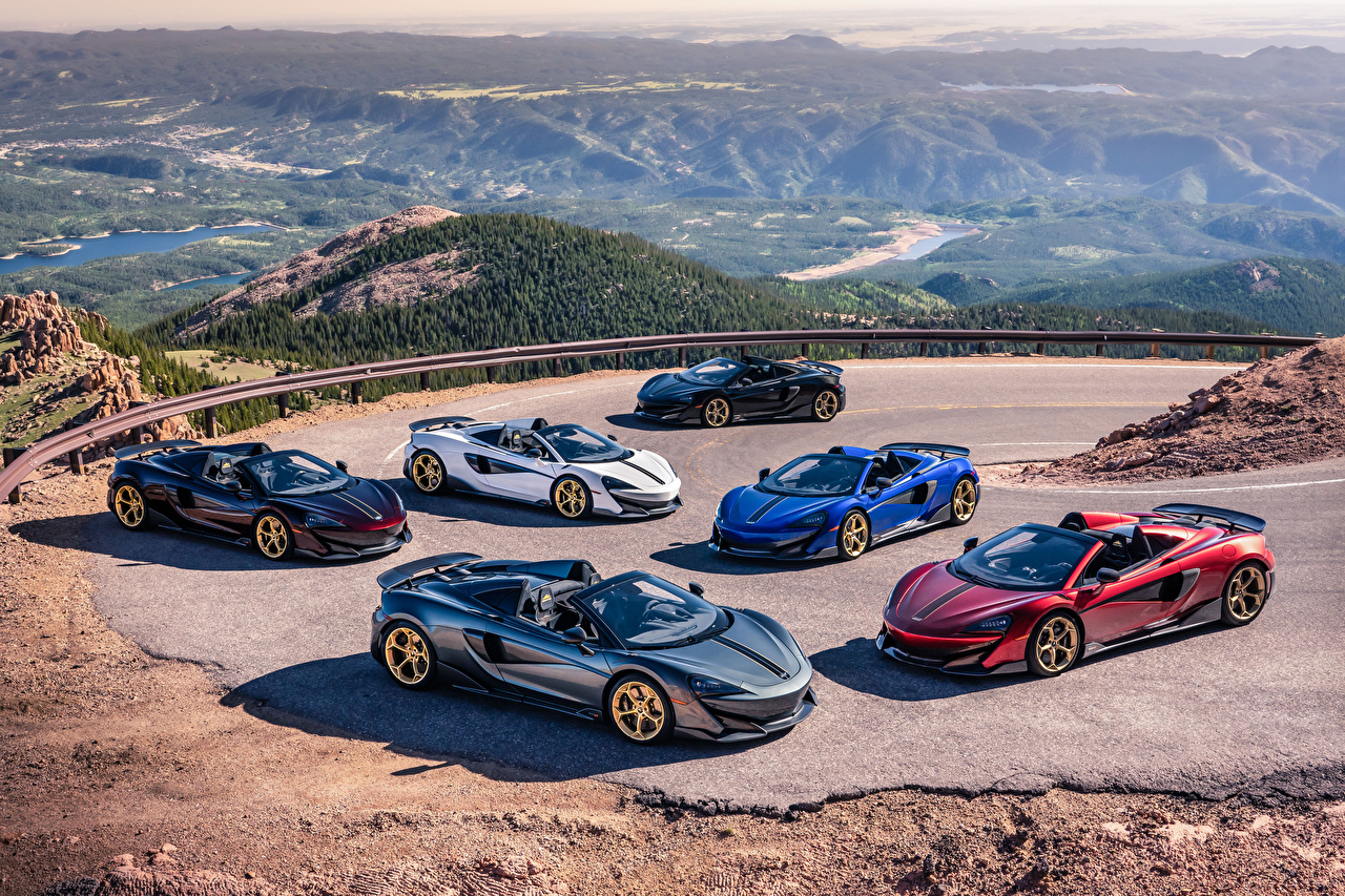 Images McLaren 2019 MSO 600LT Spider Pikes Peak Collection Roadster Cars Many auto automobile