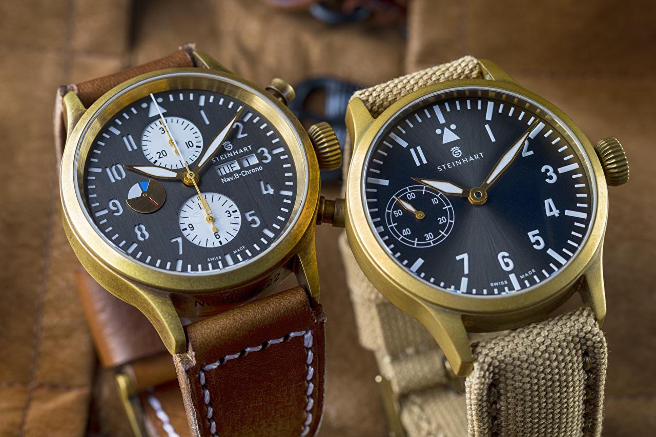 Fotos Steinhart Armbanduhr Uhr Zwei Zifferblatt 2