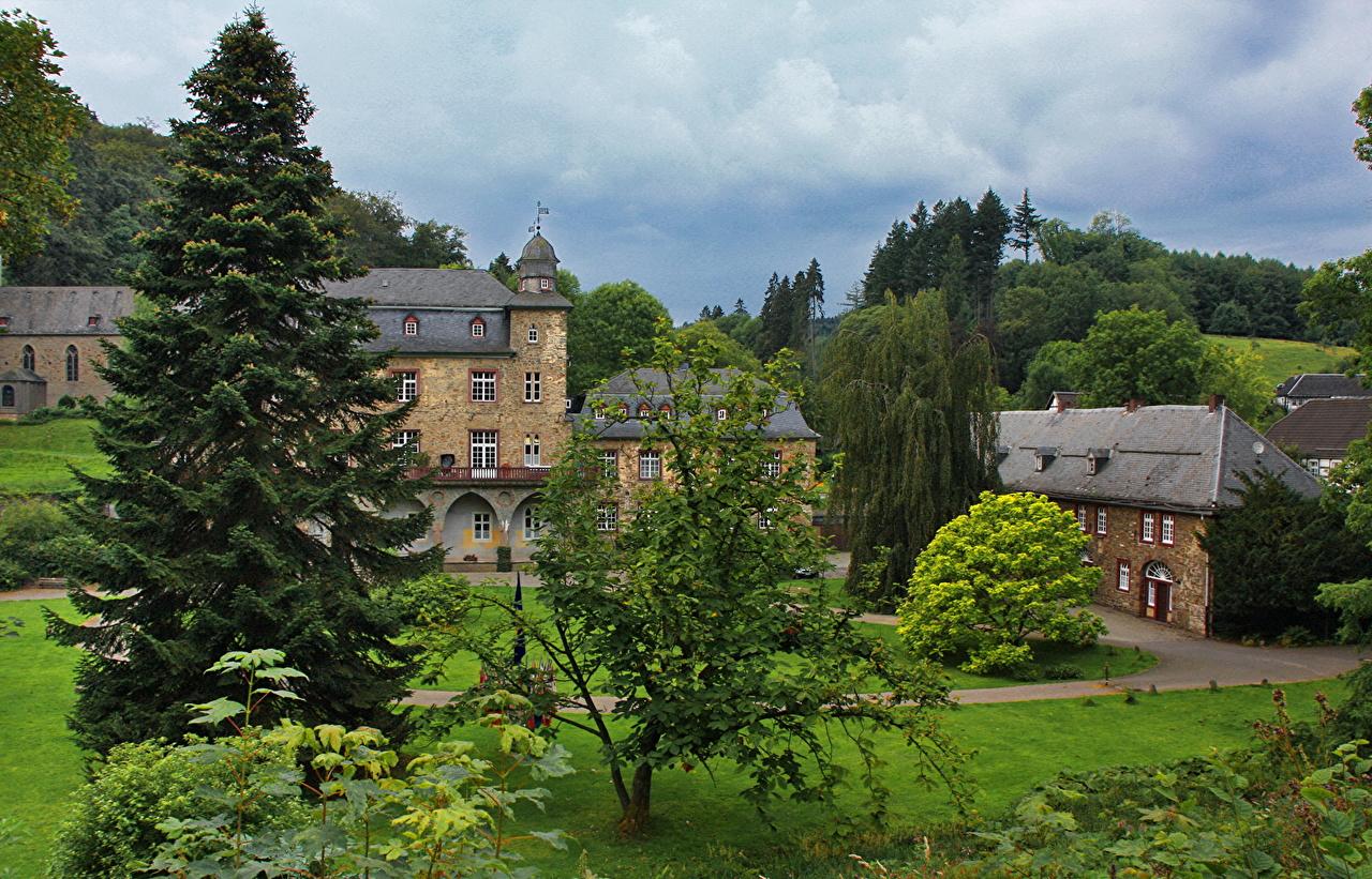 Image Germany Marienheide Gimborn Castles Cities castle
