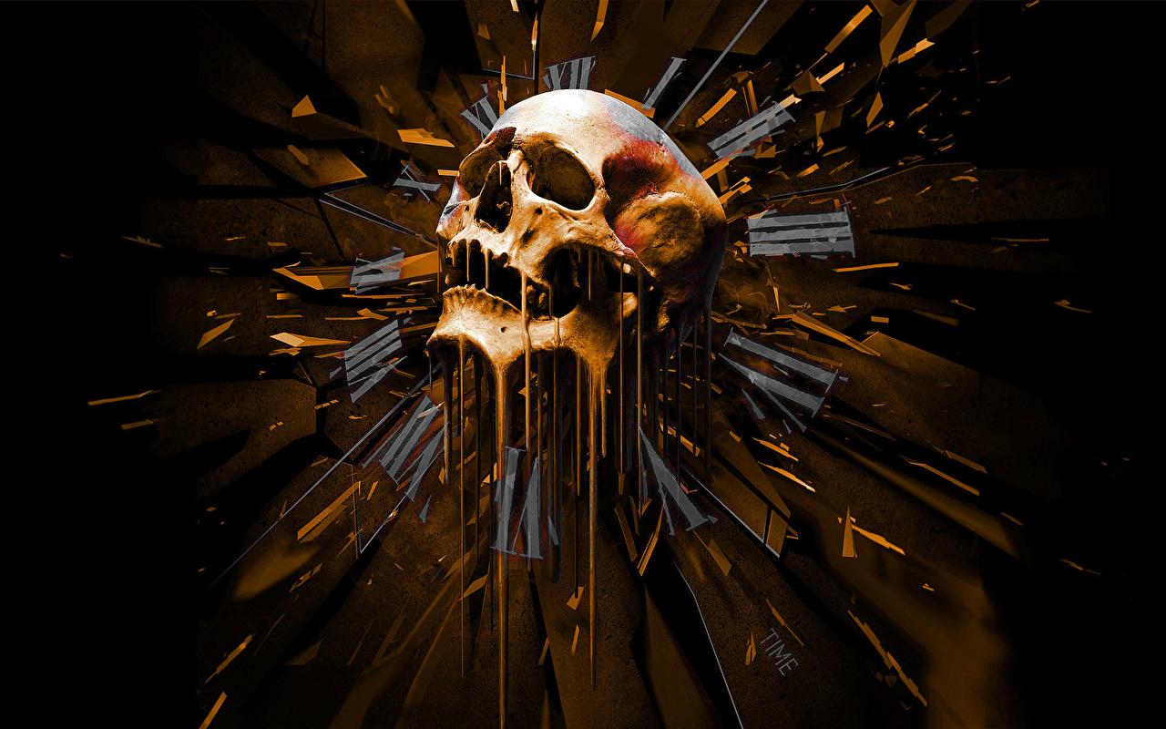 Wallpaper Skulls Fantasy