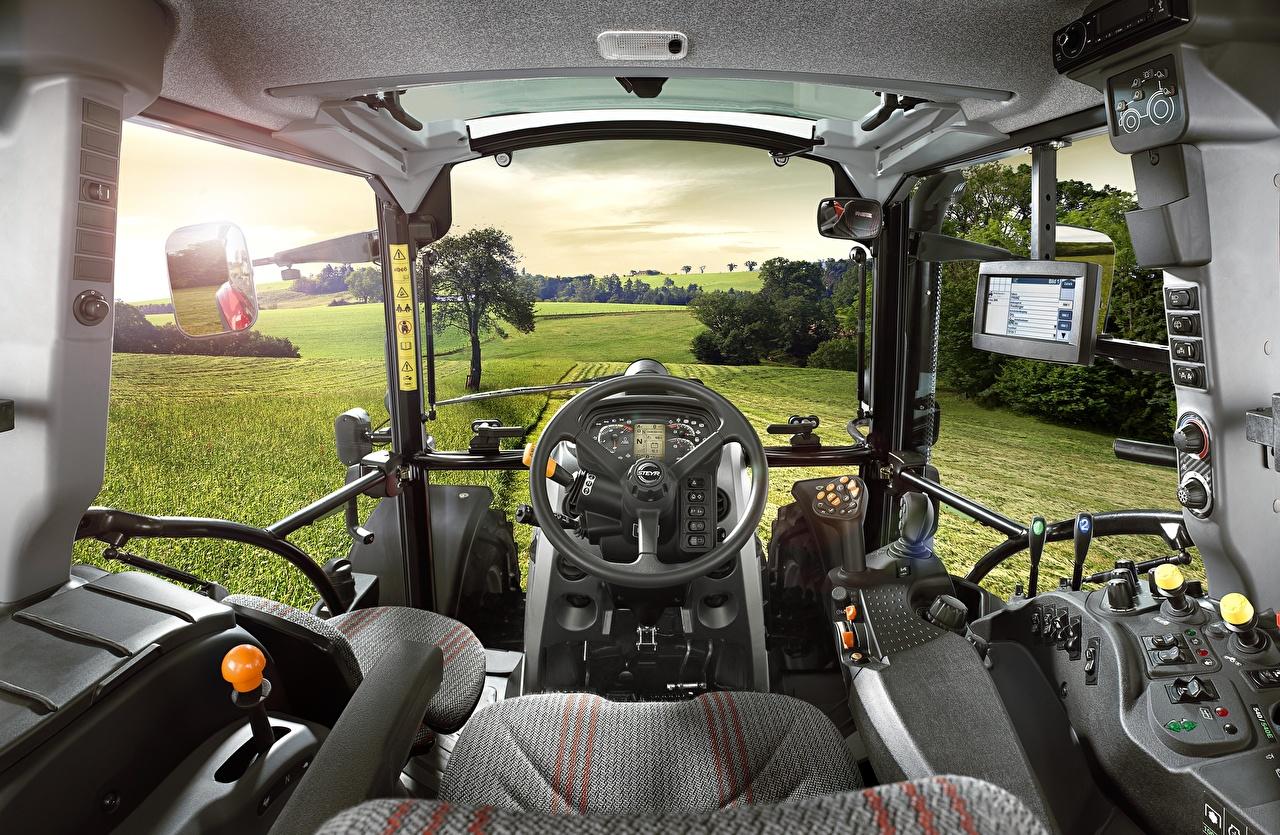 Salons Steyr 4120 Multi Tracteur agricole tracteurs