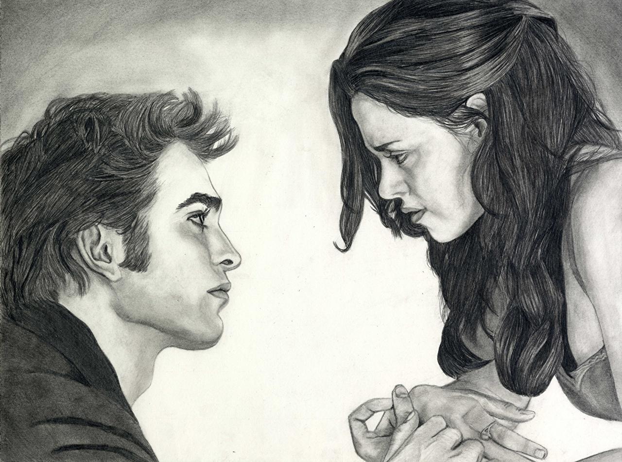 Wallpaper The Twilight Saga Breaking Dawn The Twilight Saga Kristen Stewart Robert Pattinson film Movies