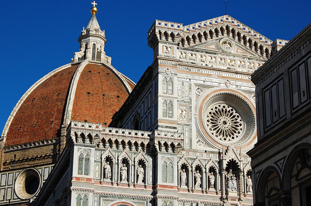 Italian Florence: Photo Florence Italy Cattedrale Di Santa Maria Del Fiore