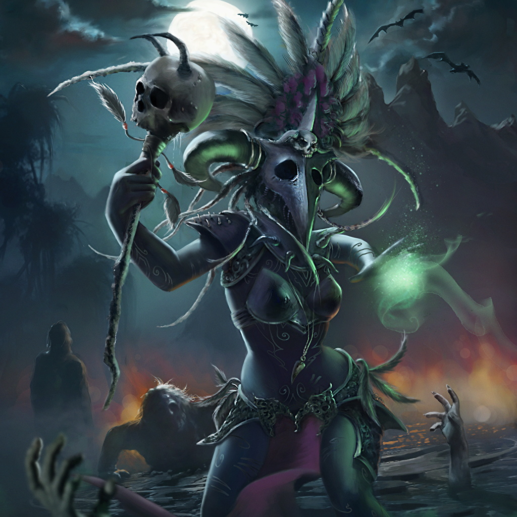 Images Diablo 3 sorcery The Witch Doctor, Andreia Ugrai